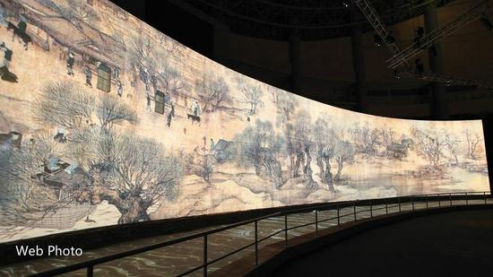 Digitalized Chinese painting masterpiece to be exhibited in Hong Kong