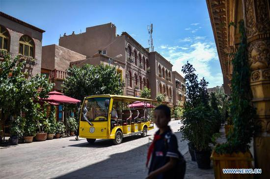 Ancient city in Xinjiang well prepared for peak tourism season