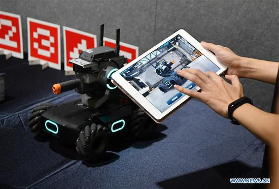 DJI launches first educational robot in Beijing