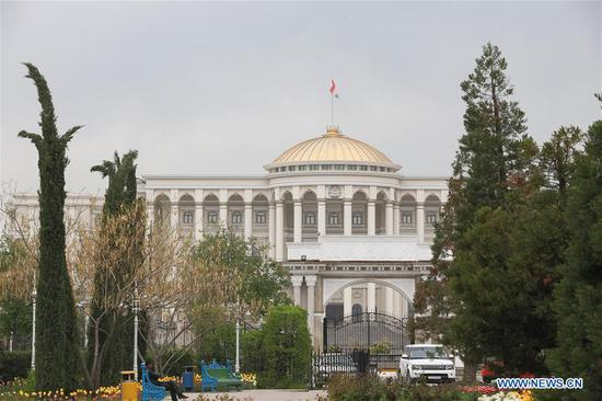 Overview of Dushanbe, capital of Tajikistan