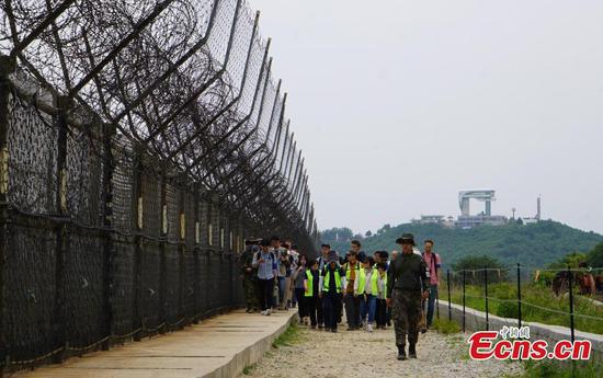 South Korea opens hiking trails inside the DMZ