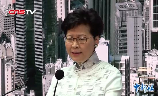 HKSAR chief executive admits deficiencies in govt's work