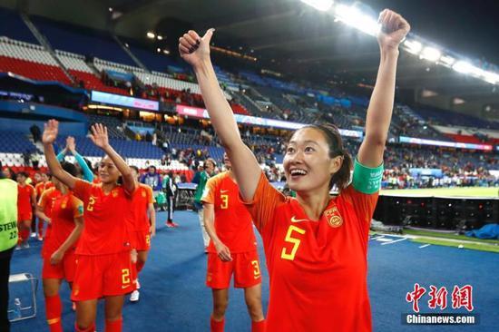 China and four others advance at Women's World Cup