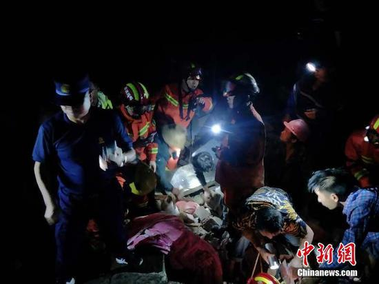 Emergency response activated for SW China earthquake