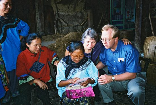 Sewing up Miao livelihoods is aim of American couple