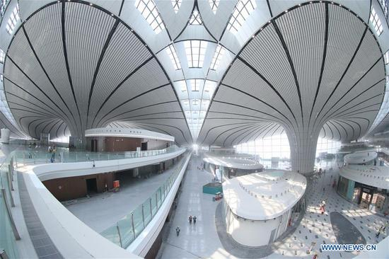 Beijing new airport to finish construction this month