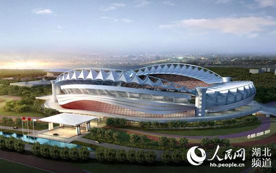 A venue for the 7th International Military Sports Council (CISM) Military World Games. (Photo/People's Daily)