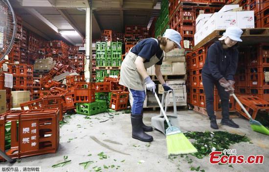 6.7-magnitude quake strikes Japan's Yamagata Prefecture
