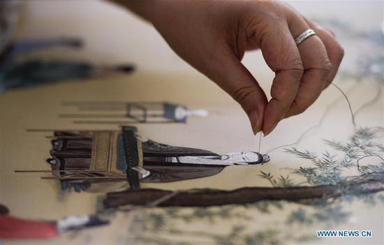 图片故事:苏州刺绣的传承人