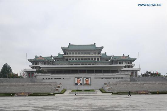 Landmarks in Pyongyang, DPRK
