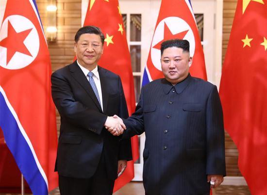 习近平说中国支持朝鲜半岛问题的政治解决