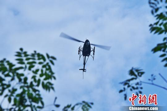 Chinese top unmanned chopper completes night drills, military service eyed