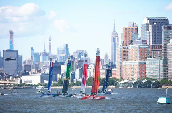New York SailGP Day 1: Team China secures third place on leaderboard