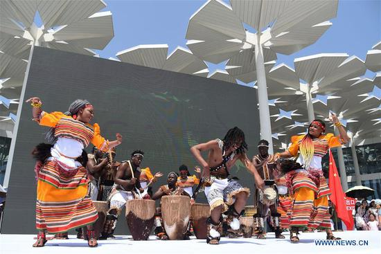'Uganda National Day' event kicks off at Expo 2019 Beijing
