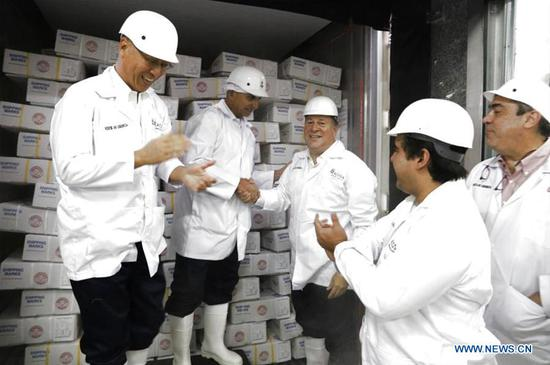 Panama makes first beef shipment to China