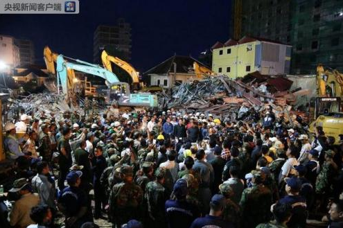 Rescue concludes in Cambodian building collapse, 28 killed