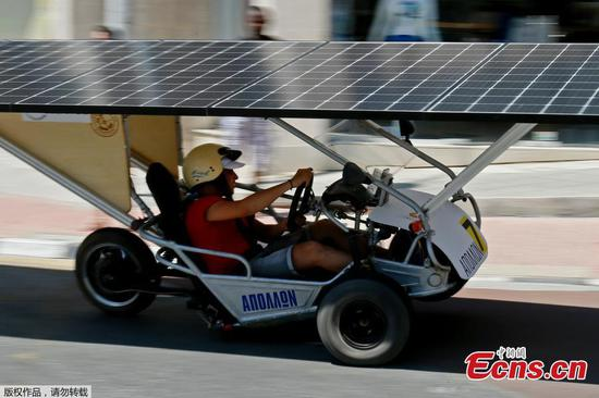Cyprus racers show budget solar cars have a sunny future