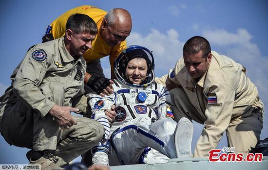 联盟号太空舱在太空飞行204天后将其送回地球