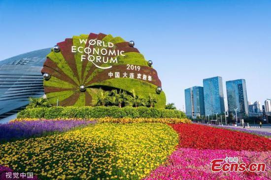 Dalian gets a facelift for Summer Davos