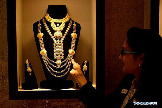 Gold fair held in Dhaka, Bangladesh