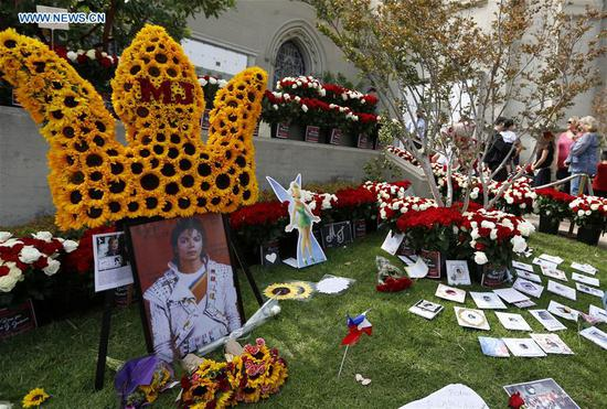 10th anniversary of Michael Jackson 's death marked in Los Angeles, U.S.