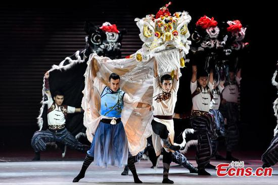 Greater Bay Area dance show opens in Guangzhou