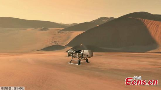 NASA will fly drone to Titan to search for life