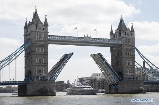 London's iconic Tower Bridge celebrates 125th anniversary