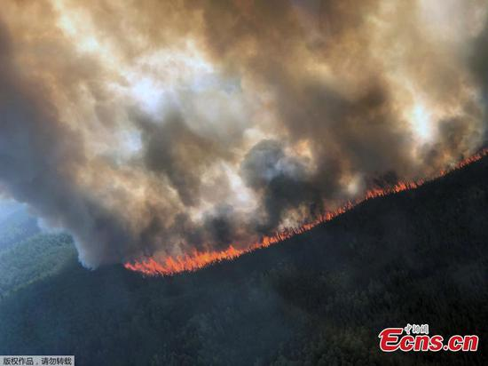 Heat wave drives wildfires in Alaska