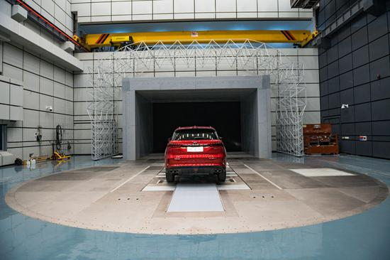 Chongqing unveils China's 2nd automotive wind tunnel