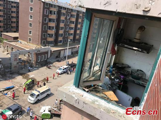 Rare tornado hits Kaiyuan, Liaoning