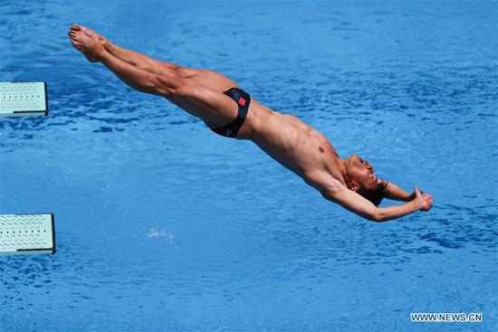 Chinese divers collect three golds on first match day of Universiade