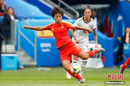 Wang Shuang grateful for opportunity in PSG