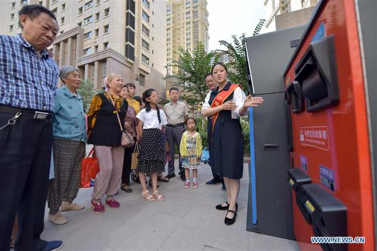 Pilot garbage sorting programme launched in Urumqi, China's Xinjiang