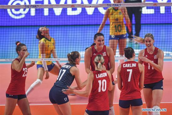 U.S. wins 2019 FIVB Volleyball Nations League Finals Women