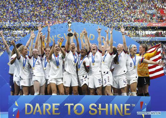 Rapinoe, Lavelle send U.S. to second straight World Cup title, fourth overall