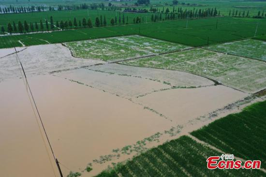 Flood affects 407,000 people in Jiangxi, costs $87 million