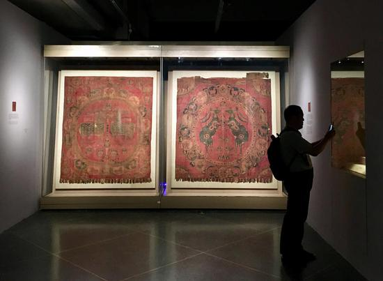 Exhibit reveals Gansu's role in Silk Road