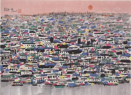 Wu Guanzhong's works donated to Tsinghua in centennial commemoration