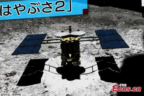 日本的Hayabusa2探测器对小行星进行了第二次着陆