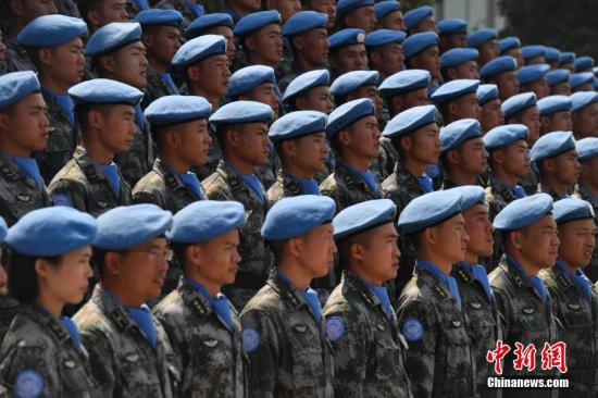 China ready to participate in triangular cooperation in UN peacekeeping operations: envoy