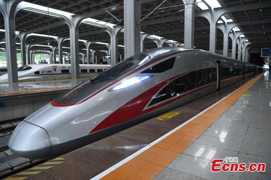 Chongqing opens bullet train to Hong Kong