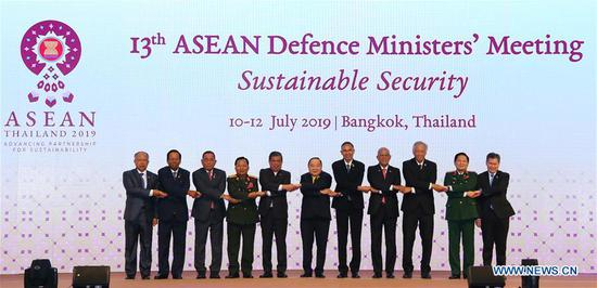 Joint declaration of ASEAN defense ministers on sustainable security signed in Bangkok