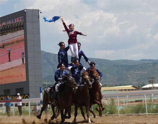 Highlights from Inner Mongolia equestrian events