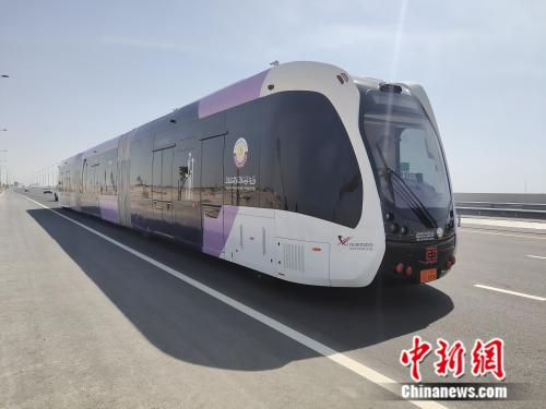 The smart electric vehicle. (Photo provided by CRRC Zhuzhou Electric Locomotive Research Institute)