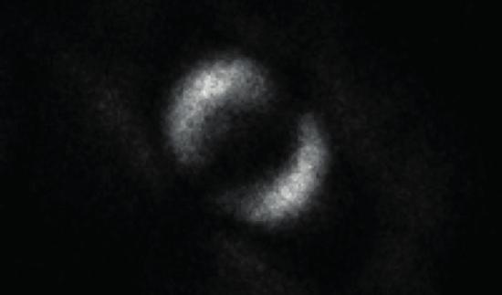 The image of quantum entanglement. (Photo/University of Glasgow)