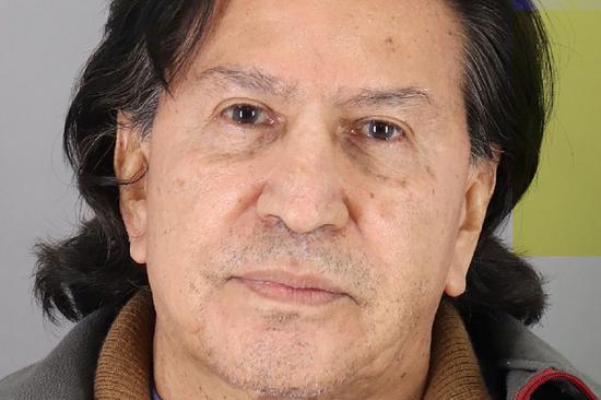 Peru's ex-president Toledo arrested in U.S.