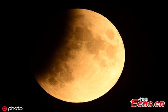 Partial lunar eclipse observed across the world