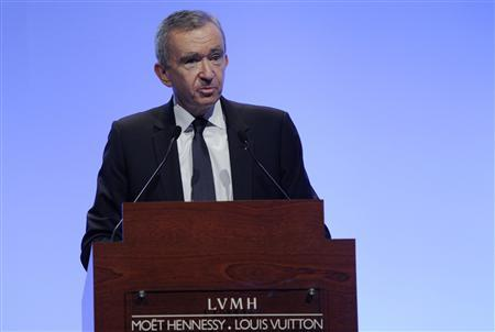 LVMH CEO overtakes Bill Gates as world's second richest man