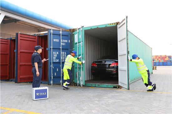 Guangdong ships first cars to be sold abroad